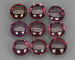 4.70 CTS~EXQUISITE NATURAL UNHEATED PURPLE COLOR RHODOLITE GARNET CAB