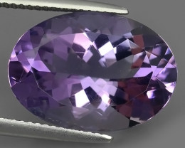 10.45 CTS INCREDIBLE PURPLE AMETHYST URUGUAY OVAL EXCEPTIONAL!!