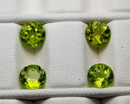 3.85Crt Peridot Lot  Natural Gemstones JI94