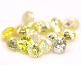 Yellow Diamond 0.71Ct 2.20mm Natural Untreated Yellow Diamond BM37
