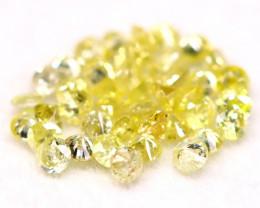 Yellow Diamond 0.66Ct 1.50mm Natural Untreated Yellow Diamond BM44