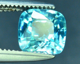 AAA Brilliance 1.60 ct Blue Zircon Cambodia ~ K