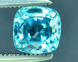 AAA Brilliance 1.55 ct Blue Zircon Cambodia ~ K
