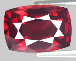 5.00 Ct. Natural Top Red Rhodolite Garnet Africa – IGE Certificate