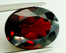 18.26  Ct. Natural Top Red Rhodolite Garnet Africa – IGE Certificate
