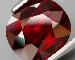 4.00 Ct. Natural Top Red Rhodolite Garnet Africa