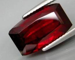 7.53  Ct. Natural Top Red Rhodolite Garnet Africa