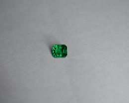 0.49 Carat Vivid Green Panjshir Emerald