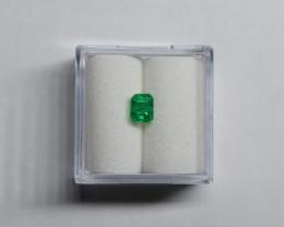0.54 Carat Vivid Green Panjshir Emerald