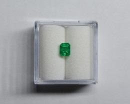 0.54 Carat Vivid Green AFGHAN (Panjshir) Emerald!