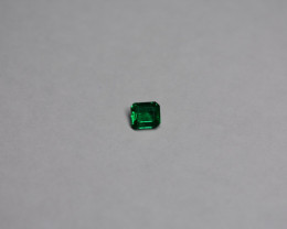 0.39 Carat Deep Green Panjshir Emerald
