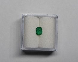 0.40 Carat Deep Green Panjshir Emerald