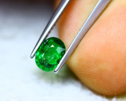 1.15ct Natural Tsavorite Garnet Oval Cut Lot V7759