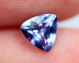 0.94cts Natural Violet Blue D Block Tanzanite / RD593