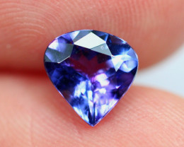 1.32cts Natural Violet Blue D Block Tanzanite / RD598