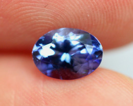 1.17cts Natural Violet Blue D Block Tanzanite / RD599