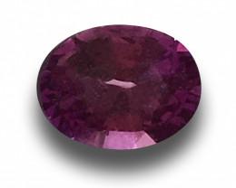 Natural Unheated Purple sapphire |Loose Gemstone| Sri Lanka
