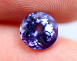 1.56cts Violet Blue D Block Tanzanite / RD651