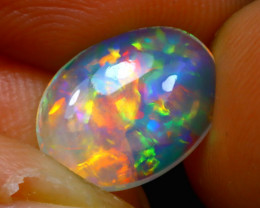 Welo Opal 1.46Ct Natural Ethiopian Play of Color Opal D1035