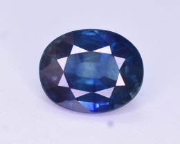 Amazing Color 1.55 Ct Natural Royal Blue Sapphire. RAH