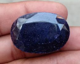 72.20 CT BLUE SAPPHIRE BIG NATURAL GEMSTONE Treated VA441