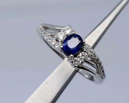 15Crt  Sapphire Ring 925 silver JIR26