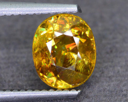 Rare AAA Fire 2.41 ct Sphene Sku-51