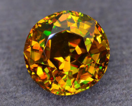 Rare AAA Fire 2.82 ct Sphene Sku-52