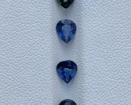 2.89 Carats Sapphire Gemstones