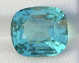 Royal Blue 4.99 Cts Natural Color Tourmaline Gemstone FROM AFGHANISTAN