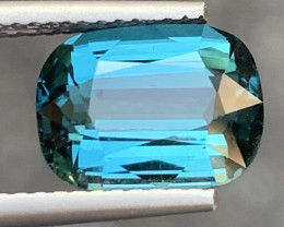 ROYAL BLUE 3.36 Cts Natural Color Tourmaline Gemstone FROM AFGHANISTAN