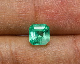 1.68ct Lab Certified Colombian Emerald