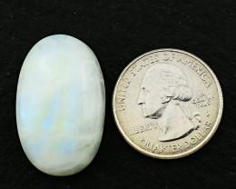 Genuine  39.00 cts Blue Flash Moonstone Oval shape Cabochon