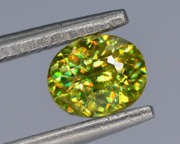 Rare AAA Fire 0.65 ct Sphene ~ A G AQ