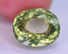 Amazing Quality 8.05 Ct Natural Green Apatite. ARA