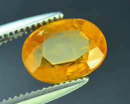 Top Clarity & Color 1.65 ct Rarest Yellow Sapphire~Sri Lanka