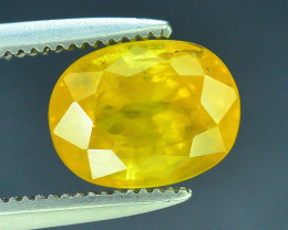 Top Clarity & Color 2.15 ct Rarest Yellow Sapphire~Sri Lanka
