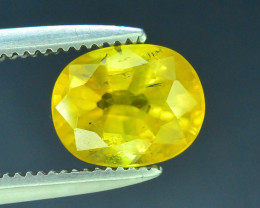Top Clarity & Color 1.40 ct Rarest Yellow Sapphire~Sri Lanka