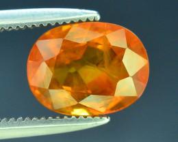 Top Clarity & Color 2.25 ct Rarest Yellow Sapphire~Sri Lanka