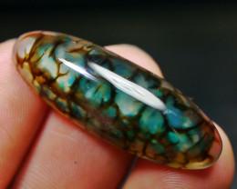 23.00 CT Beautiful Green Dragon Skin Chalcedony Agate