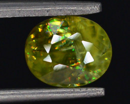 Rare AAA Fire 1.0 ct Sphene ~ A G AQ
