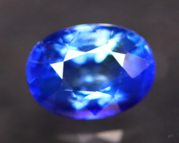Cornflower Blue Sapphire 1.29Ct VS Natural Traditional Heated AN54
