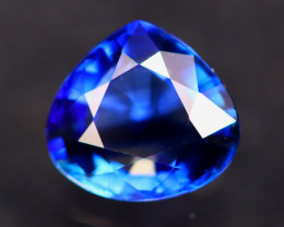 Cornflower Blue Sapphire 1.23Ct VS Natural Traditional Heated AN55