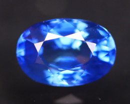 Cornflower Blue Sapphire 1.45Ct VS Natural Traditional Heated AN56