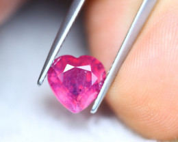 2.78ct Ruby Heart Cut Lot V6301