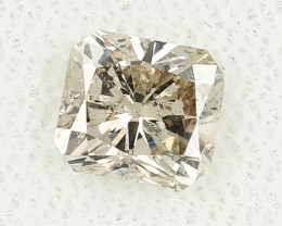 0.92ct Natural Fancy Yellowish Brown  Diamond HRD certified