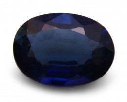 1.16 ct Oval  Blue Sapphire