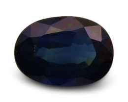 1.42 ct Oval  Blue Sapphire
