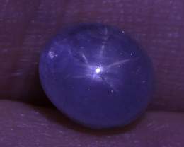 3.12 ct Unheated Blue Ceylon Star Sapphire