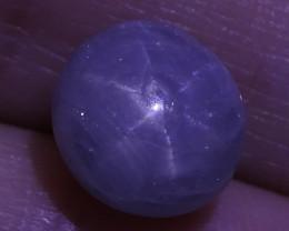 3.81 ct Unheated Blue Ceylon Star Sapphire